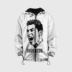 Куртка 3D с капюшоном для ребенка Juve Ronaldo - фото 1