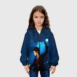 Детская 3D-куртка с капюшоном с принтом The Cranberries, цвет: 3D-черный, артикул: 10184095705458 — фото 2