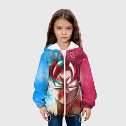 Детская 3D-куртка с капюшоном с принтом Dragon Ball, цвет: 3D-белый, артикул: 10200321905458 — фото 2