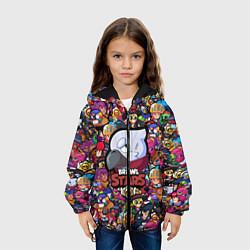 Куртка 3D с капюшоном для ребенка BRAWL STARS CROW - фото 2