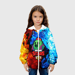 Куртка 3D с капюшоном для ребенка Brawl Stars Spike - фото 2