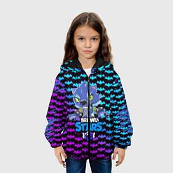 Куртка 3D с капюшоном для ребенка BRAWL STARS LEON ОБОРОТЕНЬ - фото 2