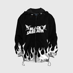 Детская 3D-куртка с капюшоном с принтом Black Sabbath, цвет: 3D-черный, артикул: 10213958505458 — фото 1