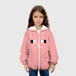Куртка с капюшоном детская Minecraft Pig цвета 3D-белый — фото 2