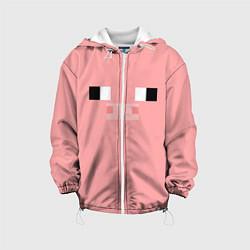 Куртка 3D с капюшоном для ребенка Minecraft Pig - фото 1
