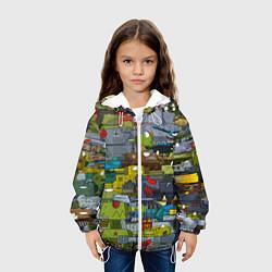 Куртка 3D с капюшоном для ребенка Геранд шоп-Мир танков - фото 2