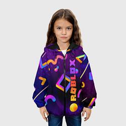 Куртка с капюшоном детская Roblox цвета 3D-черный — фото 2