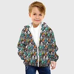 Детская 3D-куртка с капюшоном с принтом Холодное сердце 2, цвет: 3D-белый, артикул: 10253322905458 — фото 2
