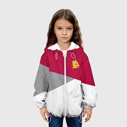Куртка 3D с капюшоном для ребенка AS Roma Red Design 2122 - фото 2