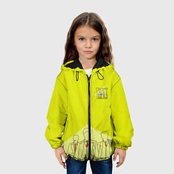 Куртка 3D с капюшоном для ребенка Острые козырьки - фото 2