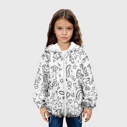 Куртка 3D с капюшоном для ребенка DIE ANTWOORD - фото 2