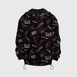 Детская 3D-куртка с капюшоном с принтом BLACKPINK, цвет: 3D-черный, артикул: 10281564905458 — фото 1
