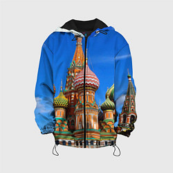 Куртка 3D с капюшоном для ребенка Храм Василия Блаженного - фото 1