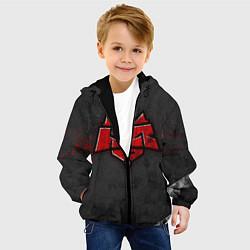 Куртка с капюшоном детская Hellraisers цвета 3D-черный — фото 2