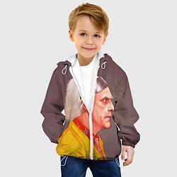 Куртка с капюшоном детская Доктор Браун цвета 3D-белый — фото 2