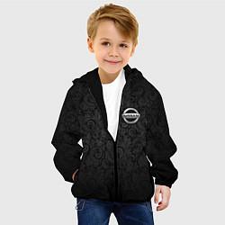 Куртка с капюшоном детская Nissan цвета 3D-черный — фото 2