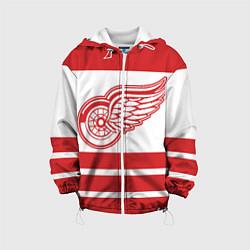 Куртка с капюшоном детская Detroit Red Wings цвета 3D-белый — фото 1