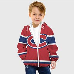 Куртка с капюшоном детская Montreal Canadiens цвета 3D-белый — фото 2
