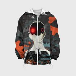 Куртка с капюшоном детская Three Days Grace цвета 3D-белый — фото 1