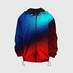 Детская куртка Синий и красный