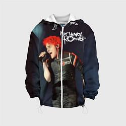 Куртка с капюшоном детская Gerard Way цвета 3D-белый — фото 1