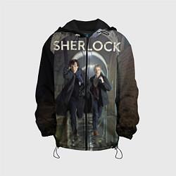 Детская 3D-куртка с капюшоном с принтом Sherlock Break, цвет: 3D-черный, артикул: 10083565405458 — фото 1