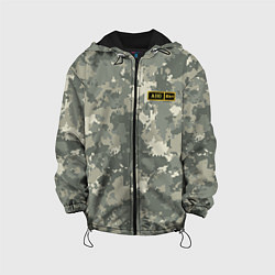 Куртка с капюшоном детская A II + цвета 3D-черный — фото 1