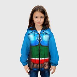 Куртка 3D с капюшоном для ребенка Капитан Татарстан - фото 2