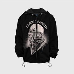 Куртка с капюшоном детская Black Sabbath: Acid Cosmic цвета 3D-черный — фото 1