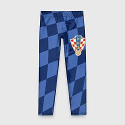 Леггинсы для девочки Сборная Хорватии цвета 3D-принт — фото 1