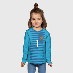 Лонгслив детский Акинфеев гостевая ЧМ-2018 цвета 3D — фото 2