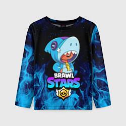 Лонгслив детский BRAWL STARS LEON SHARK цвета 3D — фото 1