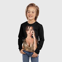 Лонгслив детский Angelina Jolie цвета 3D — фото 2