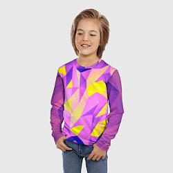 Лонгслив детский Texture цвета 3D — фото 2