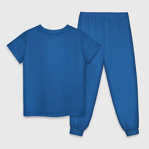 Детская пижама Её лучшая подруга / Синий – фото 2
