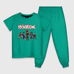 Пижама хлопковая детская ROBLOX - фото 1