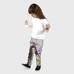 Брюки детские Lorde Floral цвета 3D — фото 2