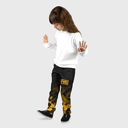 Брюки детские PUBG: Military Honeycomb цвета 3D — фото 2