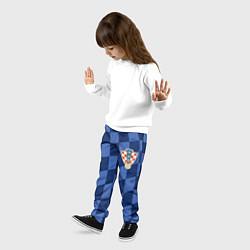 Брюки детские Сборная Хорватии цвета 3D-принт — фото 2