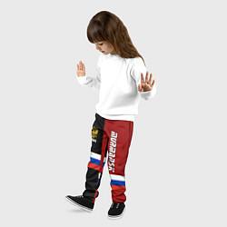 Брюки детские Murmansk, Russia цвета 3D-принт — фото 2