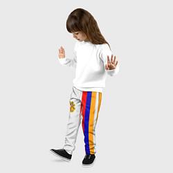Брюки детские I Love Armenia цвета 3D — фото 2