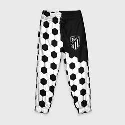 Брюки детские FC Atletico Madrid: Hexa Style цвета 3D-принт — фото 1