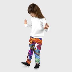 Брюки детские CS GO HYPERBEAST цвета 3D-принт — фото 2