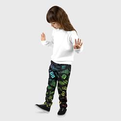 Брюки детские 6IX9INE цвета 3D — фото 2