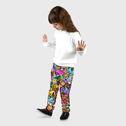 Брюки детские STANDOFF 2 STICKERS цвета 3D — фото 2