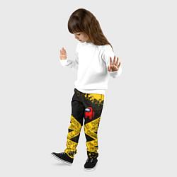 Брюки детские AMONG US Амонг Ас цвета 3D-принт — фото 2