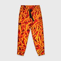 Брюки детские Морковь цвета 3D — фото 1