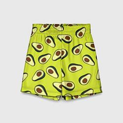 Детские шорты Стиль авокадо