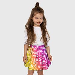 Юбка-солнце для девочки FORTNITE PARTY EVENT цвета 3D — фото 2