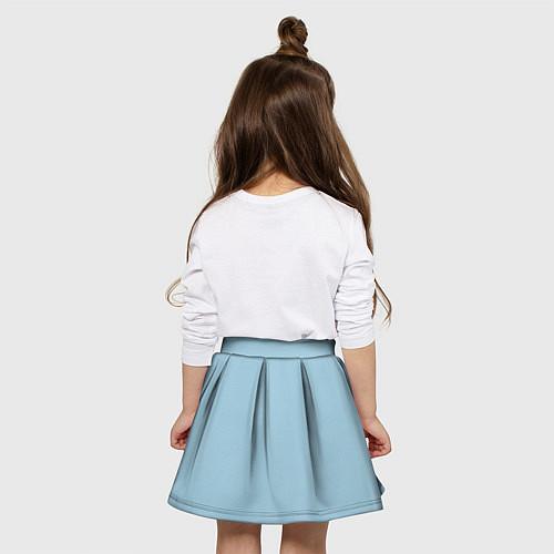 Детская юбка-солнце Страстная девушка, красивая / 3D – фото 4